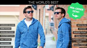 travel jacket images The world 39 s best travel jacket with 15 features baubax by 0&amp