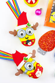 edible minions diy edible minions christmas ornaments christmas ornament sweet