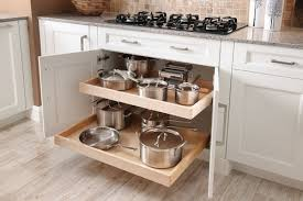 kitchen storage ideas for pots and pans wentworth contemporary kitchen chicago innermost cabinets