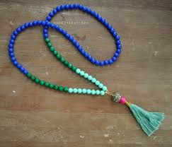 tassel necklace bead images 25 beautifully colorful diy necklaces jpg