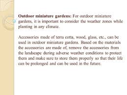 Weather Zones For Gardening - miniature gardening all about its types miniature gardens and