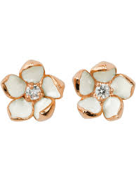 diamond earrings for sale shaun leane cherry blossom diamond earrings gold women
