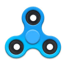 fidget spinner light up blue top toy trends fidget spinner