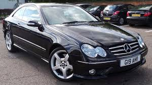 mercedes clk coupe 2006 06 mercedes clk 320 cdi sport coupe amg auto diesel cheaper