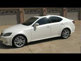 2006 lexus is350 review sold 2006 lexus is 350 37k navigation white for