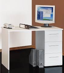 Computer Im Schreibtisch Schreibtisch Tobi Mit 3 Schubkästen Kaufen Otto