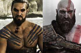 film god of war vs zeus jason momoa khal drogo wants to play kratos from god of war