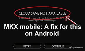 most recent android update mortal kombat x mobile on android a fix for cloud save not
