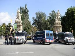 police block public access to catalan parliament business recorder
