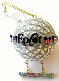 disney world park epcot ornament one mouse