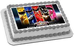 edible photo power rangers megaforce edible cake or cupcake topper edible