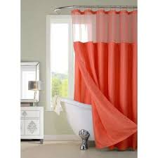 Orange Shower Curtains Orange Shower Curtains Shower Accessories The Home Depot