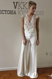 wedding dress jumpsuit separates kyriakides 2016 wedding ideas