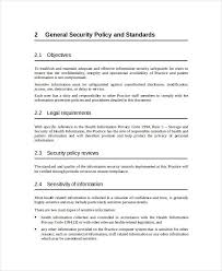 information security policy template business template u0027s