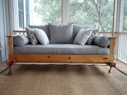 Plans For A Wooden Bench Swing by Outdoor Porch Beds That Will Make Nature Naps Worth It