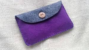how to create a simple felt purse diy crafts tutorial