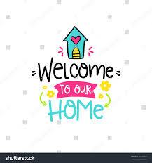 vector poster phrase house decor elements stock vector 544096375