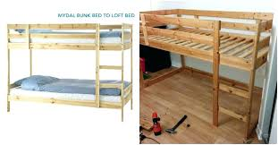 Used Bunk Beds A Loft Bed Used Bunk Beds Turn A Into A Loft Bed Bunk Bed Recall