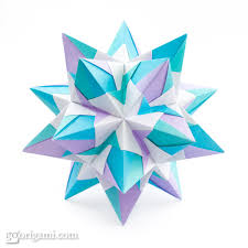 cara membuat origami kusudama origami absolutely beautiful origami kusudamas kusudama star