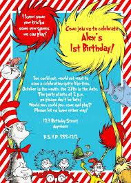 dr seuss 1st birthday design printable dr seuss birthday invitations with high