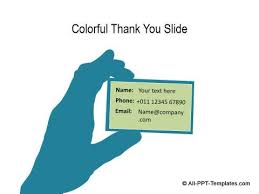 powerpoint presentation templates for thank you thank you slide templates