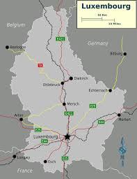 Map Of Luxembourg Luxembourg Map U2022 Mapsof Net
