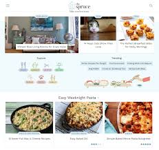 about com launches the spruce a standalone site for home decor