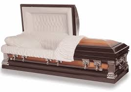 burial caskets jefferson bronze casket with white interior alpharetta ga