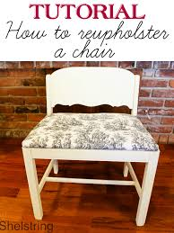 Reupholster Armchair Tutorial Tutorial How To Reupholster A Chair Cushion Ask Anna