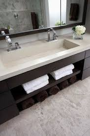 bathroom trough sink pinebrook residence contemporary bathroom cincinnati ryan