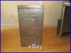 vintage metal file cabinet vintage industrial mid century stripped metal filing cabinet 2