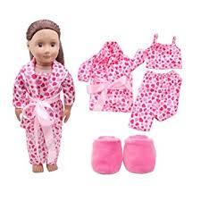 wensltd clearance 5pcs lovely pajamas set clothes shoes