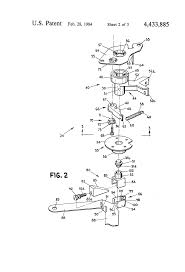Kitchen Cabinet Lazy Susan Hardware Patent Us4433885 Lazy Susan Assembly Having A Rotational And
