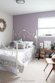 mauve lous guest bedroom ideas a simple spare room refresh