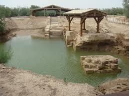baptism of jesus location river jordan bennachti