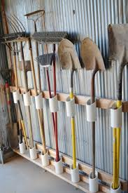 How To Organize A Garage The Diy Garden Tool Storage Idea That Will Save Your Sanity Barn