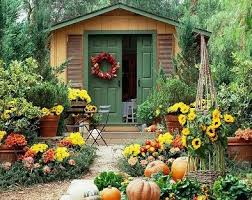 Pictures Of Front Porches Decorated For Fall - create a welcome entry to your home with fall front porch