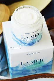 how to save the oceans and your skin with la mer blue heart