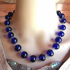 blue beads necklace images Recently sold jewelry other fashion creations r g 39 s creations jpg