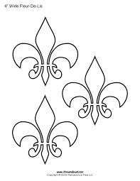 fleur de lis home decor fleur de lis templates printable fleur de lis shapes