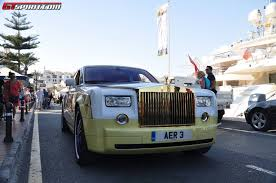 rolls royce ghost gold gold plated rolls royce ghost by cohen u0026 cunild spotted gtspirit