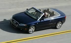 audi a4 2007 convertible 2007 audi a4 2 0t comparison tests comparisons car and driver