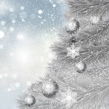 silver christmas silver christmas tree background vector free