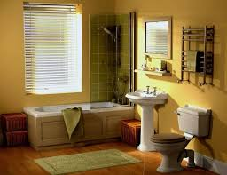 bathroom window blinds over tub ideas jhmhome splendid yellow paint color bathroom having bathtubs with glass door and window blinds
