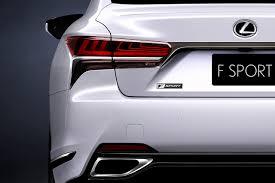 lexus ct 200h f sport fiche technique lexus offre une version f sport à sa limousine ls l u0027argus