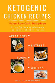 100 yummy ketogenic chicken recipes paleo low carb dairy free