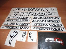 logo specialized adesivi decals per ruote cerchi bici da corsa