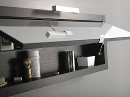 home decor mirrored bathroom wall cabinets lighting for small