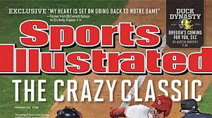 crazy u0027 world series on nov 4 cover of sports illustrated si com