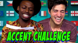 Challenge Smosh Accent Challenge